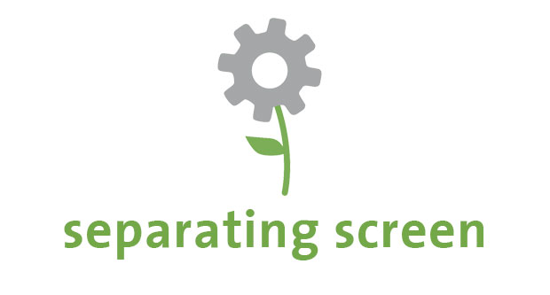 seperating screen